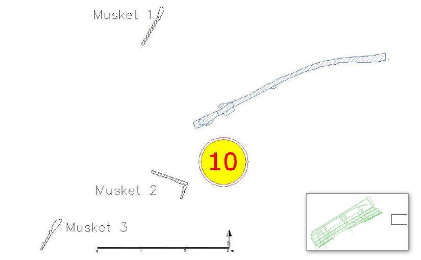 Plan of Dive Station 10