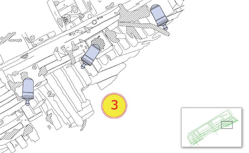 Plan of Dive Station 3