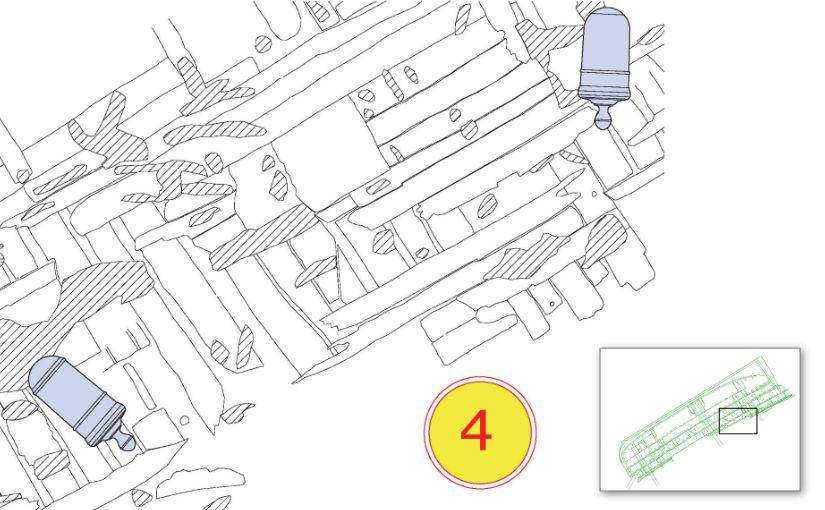 Plan of Dive Station 4