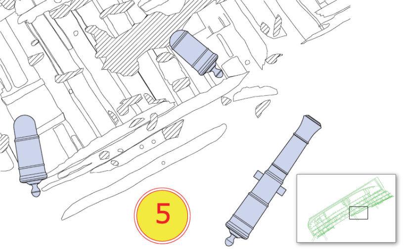Plan of Dive Station 5